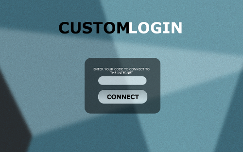 Guest Internet hotspot gateway login page example